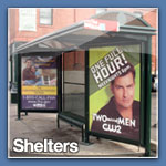 sheltered outdoor advertising